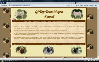 of Top Team Mopsz Kennel - Helga Ozvald - Bradford (West Yorkshire)